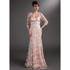 Trumpet/Mermaid Sweetheart Floor-Length Mother of the Bride Dresses With Ruffle Beading Sequins (008211037)