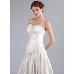 what is a line wedding dresses