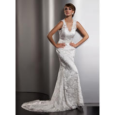 cheap trumpet mermaid wedding dresses