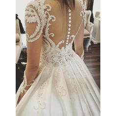 bling wedding dresses for bride 2018