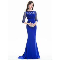evening dresses plus size with sleeves