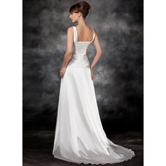 cheap ivory casual wedding dresses