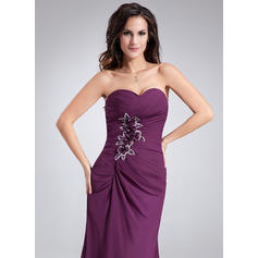 red evening dresses short sleeves