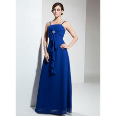 long shafon bridesmaid dresses