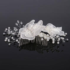 "Combs & Barrettes Wedding Crystal/Imitation Pearls/Lace 5.91""(Approx.15cm) 5.91""(Approx.15cm) Headpieces"