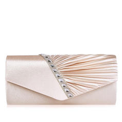 "Clutches/Satchel Wedding/Ceremony & Party Satin Attractive 10.63""(Approx.27cm) Clutches & Evening Bags"