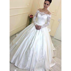 all white wedding dresses for women