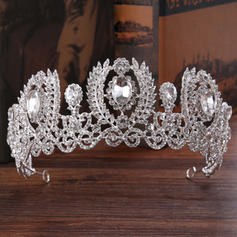 "Tiaras Wedding/Party Rhinestone/Alloy 8.66""(Approx.22cm) 2.56""(Approx.6.5cm) Headpieces"