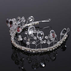 "Tiaras Wedding Crystal 11.8""(Approx.30cm) 1.97""(Approx.5cm) Headpieces"