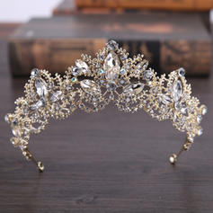 "Tiaras Wedding/Party Rhinestone/Alloy 5.53""(Approx.14cm) 2.17""(Approx.5.5cm) Headpieces"