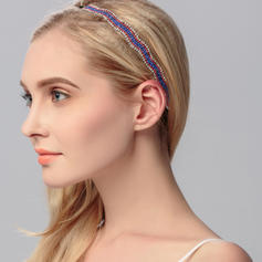 """Headbands Wedding/Special Occasion/Party Rhinestone 9.84""""(Approx.25cm) 0.51""""(Approx.1.3cm) Headpieces"""