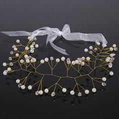 "Headbands Wedding Crystal/Imitation Pearls 15.75""(Approx.40cm) 1.97""(Approx.5cm) Headpieces"