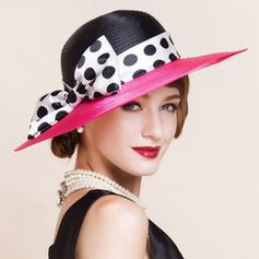 Polyester With Bowknot Bowler/Cloche Hat Fashion Ladies' Hats