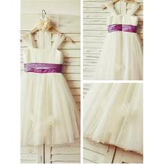 flower girl dresses made with tulle
