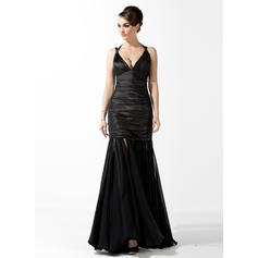 sequined evening dresses long