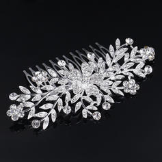 "Combs & Barrettes Wedding/Special Occasion Rhinestone/Alloy 3.94""(Approx.10cm) 2.37""(Approx.6cm) Headpieces"