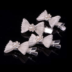 """Combs & Barrettes Wedding/Special Occasion/Casual Alloy 1.69""""(Approx.4.3cm) 0.78""""(Approx.2cm) Headpieces"""