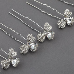 "Hairpins Wedding/Special Occasion/Party Rhinestone/Alloy 2.99""(Approx.7.6cm) 0.87""(Approx.2.2cm) Headpieces"