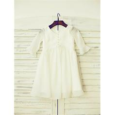 flower girl dresses with bow
