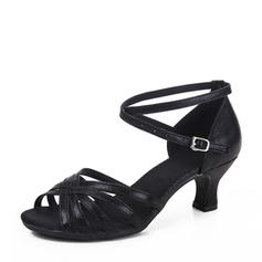 Women's Latin Leatherette Dance Shoes