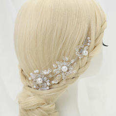 """Headbands Party Crystal/Alloy/Imitation Pearls 6.89""""(Approx.17.5cm) 1.97""""(Approx.5cm) Headpieces"""