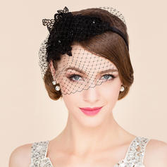 Net Yarn Fascinators Beautiful Ladies' Hats