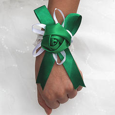 "Wrist Corsage Free-Form Wedding/Party Satin 1.97""(Approx.5cm) Wedding Flowers"