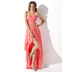 champagne colored short homecoming dresses