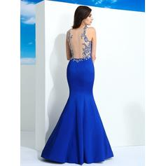 blue and grey prom dresses