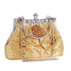 "Clutches Wedding/Ceremony & Party Embroidery Elegant 8.67""(Approx.22cm) Clutches & Evening Bags"