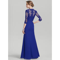 fit and flare long evening dresses