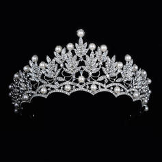 "Tiaras Wedding/Special Occasion Rhinestone/Alloy 2.76""(Approx.7cm) 5.90""(Approx.15cm) Headpieces"