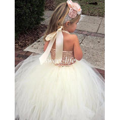 short length flower girl dresses