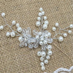"Hairpins Wedding/Special Occasion/Casual/Outdoor/Party/Art photography Crystal/Rhinestone/Imitation Pearls 5.91""(Approx.15cm) 5.91""(Approx.15cm) Headpieces"
