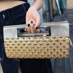 """Clutches Wedding/Ceremony & Party Crystal/ Rhinestone Refined 12.20""""(Approx.31cm) Clutches & Evening Bags"""
