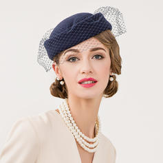 Wool With Tulle Fascinators Vintage Ladies' Hats