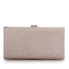 Clutches/Bridal Purse Ceremony & Party/Casual & Shopping/Office & Career Polyester/Alloy Clip Closure Fashional Clutches & Evening Bags