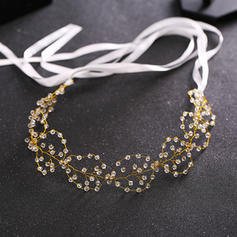 """Headbands Wedding/Special Occasion Crystal/Alloy 14.57 """"(Approx.37cm) 1.57""""(Approx.4cm) Headpieces"""