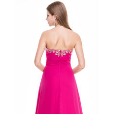 trained long prom dresses