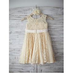 yellow and black flower girl dresses