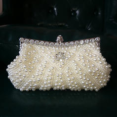 """Clutches/Satchel Ceremony & Party Imitation Pearl Gorgeous 9.06""""(Approx.23cm) Clutches & Evening Bags"""