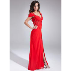 red sparkly evening dresses cheap