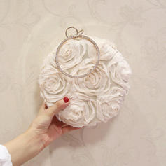 "Clutches Wedding/Ceremony & Party/Casual & Shopping/Office & Career Nylon Elegant 7.00"" (Approx.18cm) Clutches & Evening Bags"