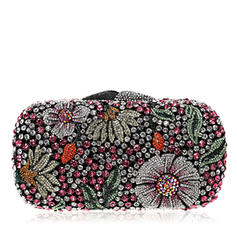 Clutches/Luxury Clutches Wedding/Ceremony & Party Crystal/ Rhinestone Magnetic Closure Unique Clutches & Evening Bags