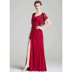 simple long mother of the bride dresses