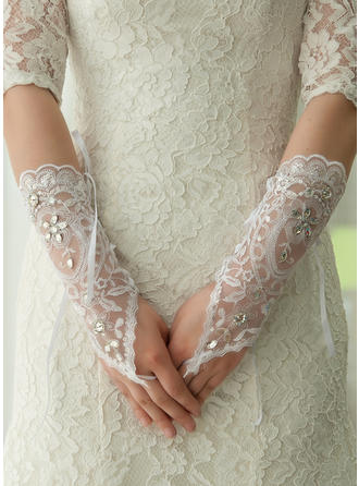 Lace Ladies' Gloves Elbow Length Bridal Gloves Fingerless Gloves
