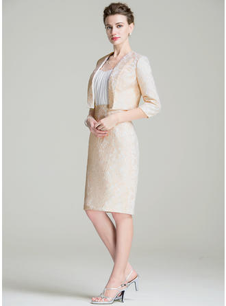 Wrap Special Occasion Lace 3/4-Length Sleeve Wraps