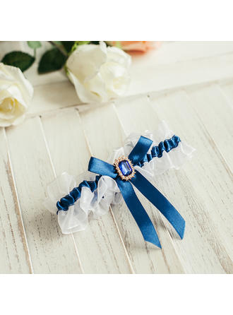 Garters Women Wedding/Casual/Dress/Special Occasion/Daily Wear Satin With Bowknot Garter