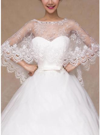 Wrap Wedding Lace With Rhinestones Other Colors Wraps
