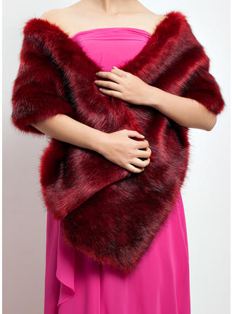 Shawl Special Occasion Faux Fur Other Colors Wraps